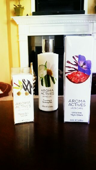 INTRODUCING AROMA ACTIVES SKINCARE